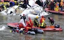 Queda do avião em Taiwan e buscas por sobreviventes