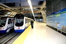 Menino fica sem no metro de Madrid