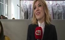 Famosos desfilam no Portugal Fashion