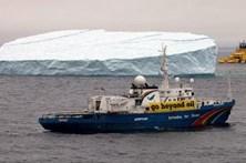 Crescimento do gelo no Ártico está em queda