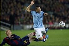 Aguero e Fernandinho suspensos na Liga inglesa