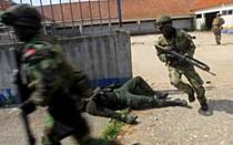 A força dos fuzileiros