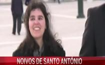 Ricardo e Cristina conheceram-se na Praça do Comércio