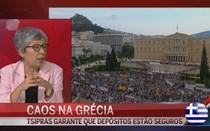 """Caos na Grécia: """"Informações são muito contraditórias"""""""