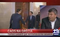 """Caos na Grécia: """"É chocante ver cidadãos europeus nas filas para o multibanco"""""""