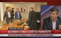 """""""Princípio de acordo indica que o euro não vai entrar em colapso"""""""