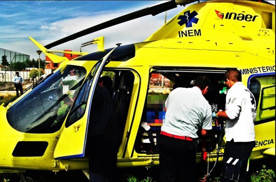 Explosão em Alenquer faz um ferido grave