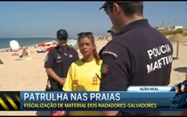 Ação Real: patrulha nas praias