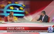 """""""Economia grega continua asfixiada e sem dinheiro"""""""