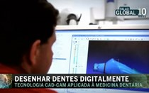 Desenhar dentes digitalmente