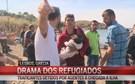 CMTV testemunha momentos dramáticos de refugiados