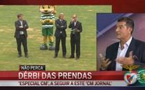 """""""Líderes do Sporting e do Benfica devem ter discurso elevado"""""""