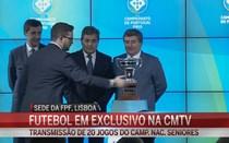 CMTV vai transmitir jogos de futebol do Campeonato Portugal
