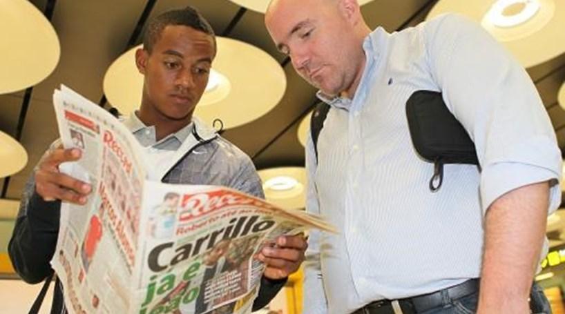 Agente de Carrillo acusa o Sporting de mentir