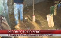 Moradores de Albufeira tentam recomeçar do zero