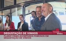 Famosos provam vinhos da Quinta de São Sebastião