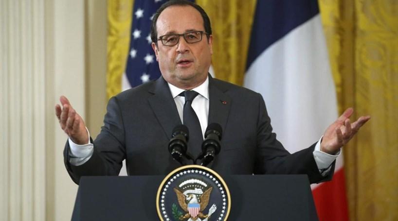 Hollande: EUA e França vão intensificar ataques contra o EI