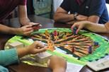 A sua família num jogo de tabuleiro