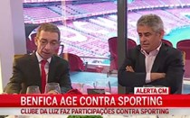 Benfica apresenta queixas contra Jesus