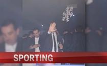 Bruno de Carvalho em desacatos na noite do Funchal