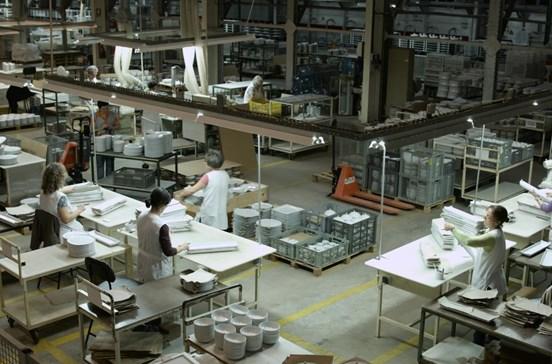 Vista Alegre exporta 67% das vendas