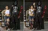 Constrói Darth Vader com brinquedos sexuais
