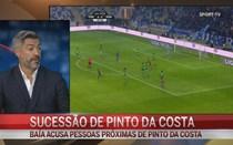 Baía diz haver reuniões secretas sobre sucessão de Pinto da Costa