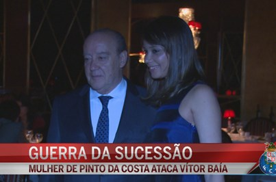 Primeira dama abre guerra da sucessão no FC Porto