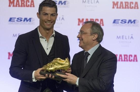 Presidente do Real Madrid nega chantagem de Ronaldo para melhorar contrato