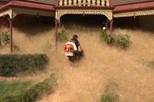 Ervas secas invadem localidade australiana