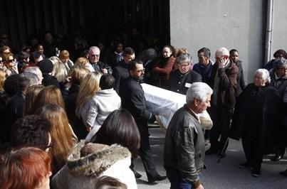 Tragédia de Caxias: funeral de Viviane em imagens