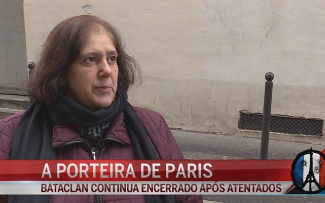 Porteira portuguesa ainda tenta ultrapassar tragédia de Paris
