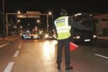 Condutor embriagado em fuga louca à polícia