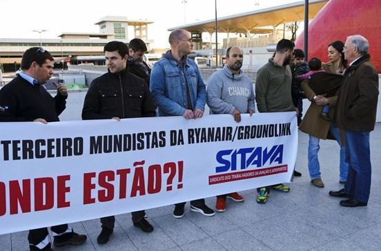 Seguranças dos aeroportos em greve total de 13 a 17 de maio