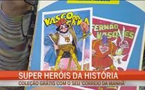 Super heróis da história
