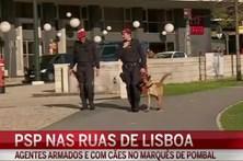 Mais PSP nas ruas de Lisboa
