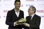 Real Madrid empenhado em travar vontade de sair de Ronaldo