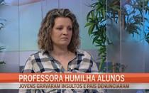 Professora humilha alunos