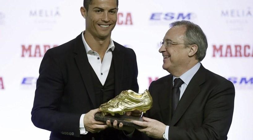 """Ronaldo é o """"grande sucessor"""" de Di Stéfano"""