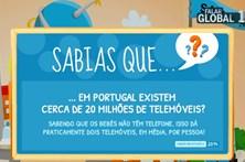 Dois telemóveis por pessoa em Portugal