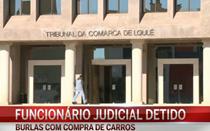 Funcionário judicial detido