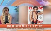 Ana Duarte nua na Playboy