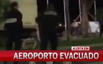 Aeroporto de Nice evacuado