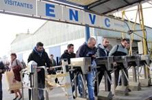 Ex-trabalhadores dos Estaleiros de Viana manifestam-se em Lisboa