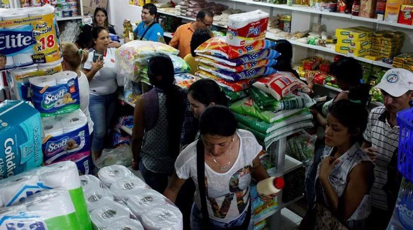 63 mil venezuelanos foram à Colômbia comprar comida