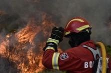 Bombeiros combatem incêndio em Viseu