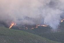 Serra da Estrela ameaçada pelo fogo