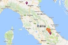 Veja que zonas foram afetadas pelo sismo em Itália