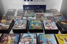PSP de Leiria apreende de 287 DVD e CD