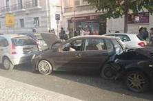 Choque em cadeia em Lisboa faz dois feridos